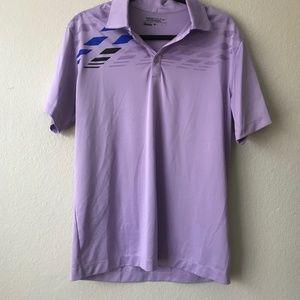 Nike Golf Light Purple Men's Dri-Fit Polo